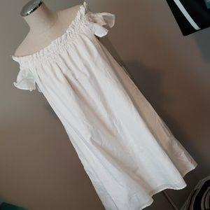 NWT - ZARA WHITE DRESS